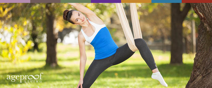 aerial yoga at home
