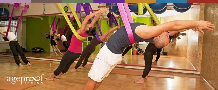 anti gravity yoga
