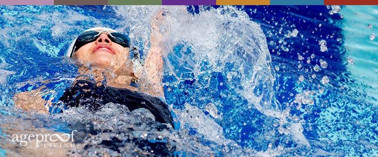 benefits of swimming laps